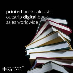 Digital versus printed book sales