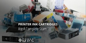 Printer Ink Cartridges Are A Complete Scam