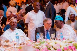 Photo Of Bill Gates At The Wedding Of Fatima Dangote's Daughter Yesterday