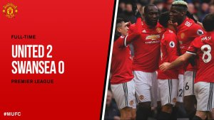 VIDEO MP4: Manchester United vs Swansea 2-0 – Highlights & Goals