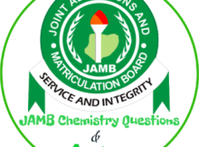 JAMB Chemistry Questions 2018