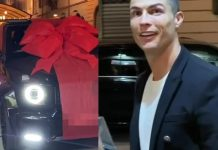 Cristiano Ronaldo's girlfriend Georgina Rodriguez surprises him with a brand new Mercedes AMG G63 on his 35th birthday (Video)