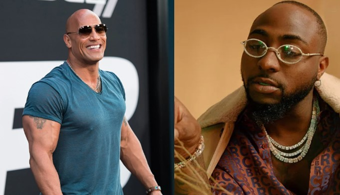Watch Video: Davido Makes The Best African Music- American Actor Dwayne 'De Rock' Johnson Says