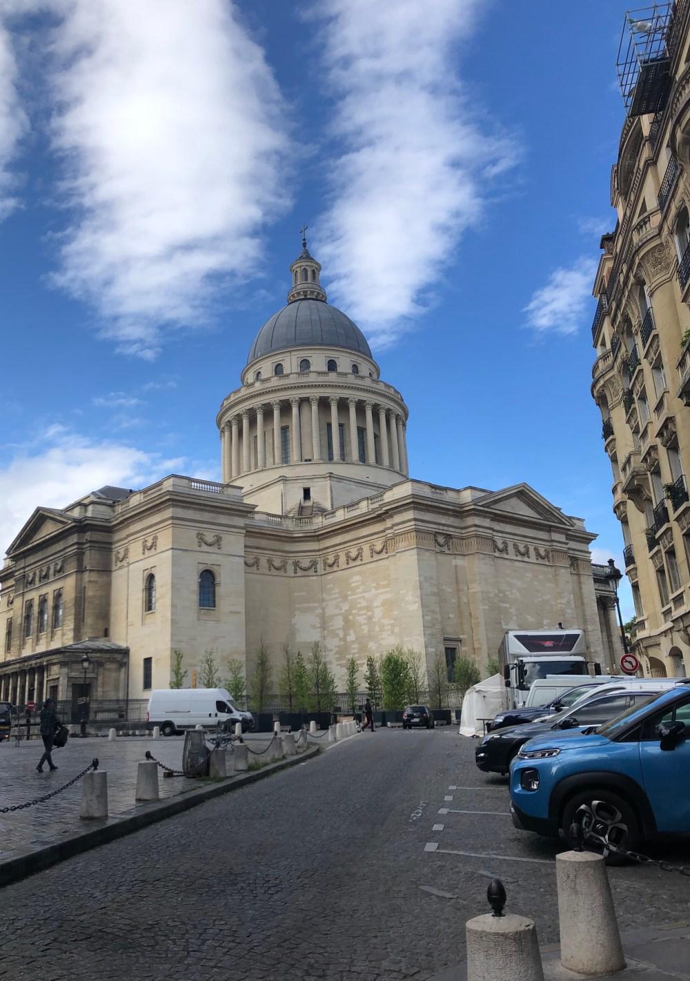 Das Pantheon auch Ruhmeshalle Frankreichs, in Paris im 5. Arrondissement