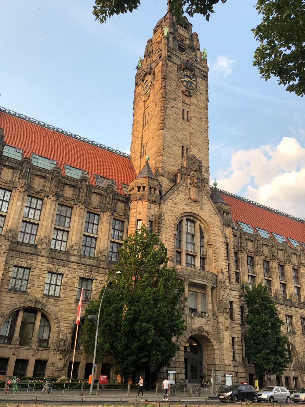 Rathaus Charlottenburg, das von 1899 bis 1905 erbaut wurde