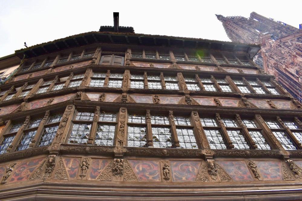 Haus Kammerzell neben der Straßburger Münster