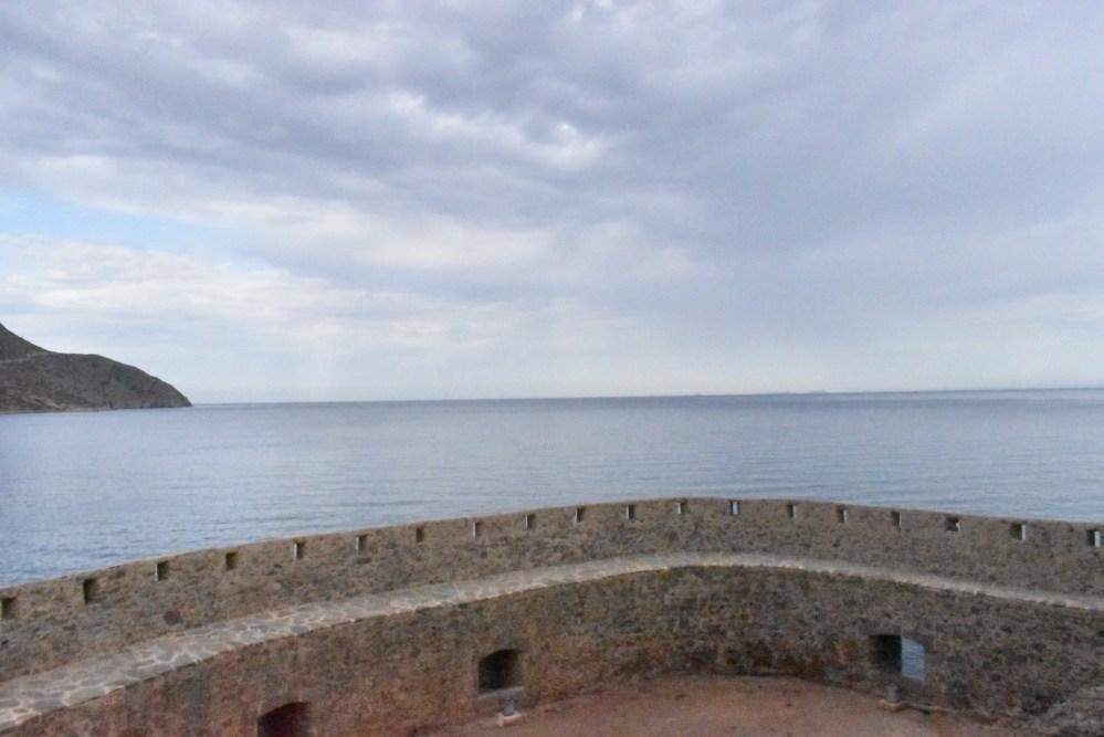 Festungsmauer der Leprainsel Spinalonga