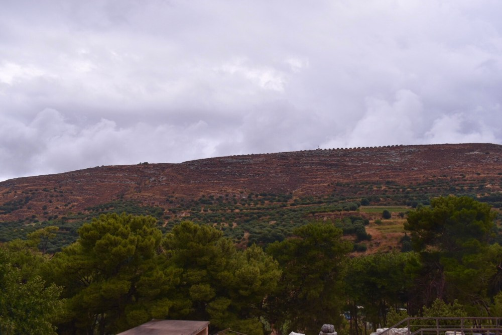 Ausblick vom Palast des Minos