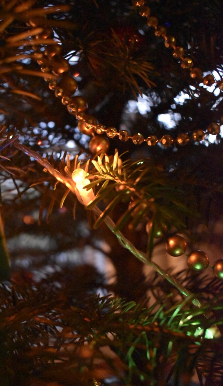 Ketten im Tannenbaum