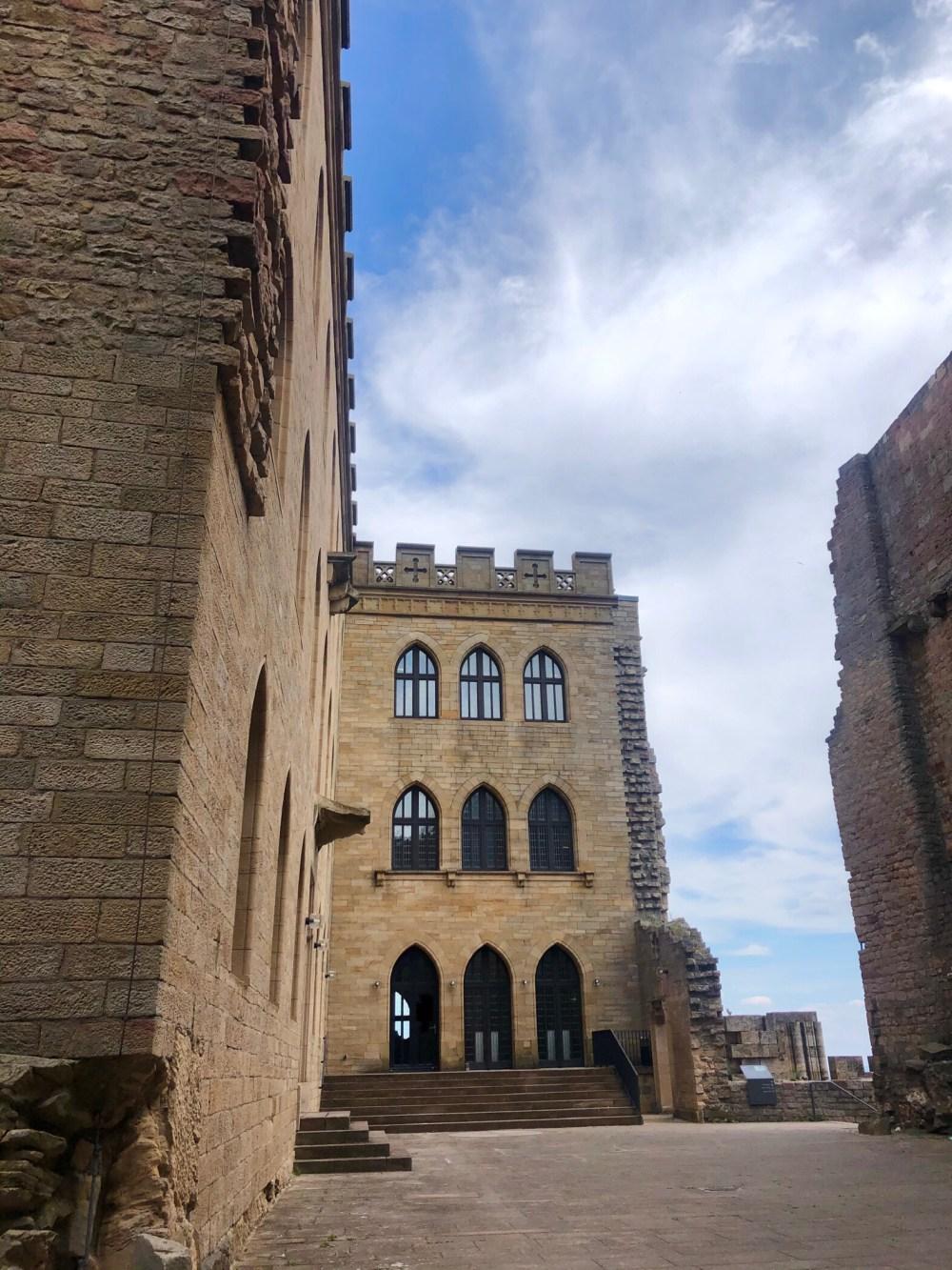 Teil des Schlosses