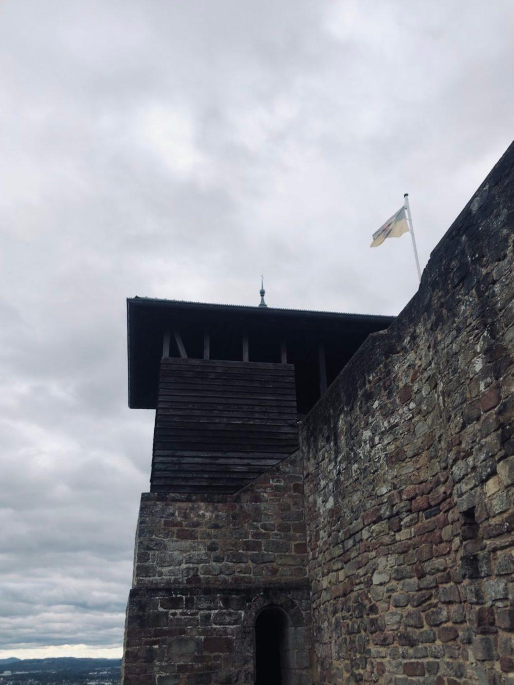 Treppenhaus der Burg