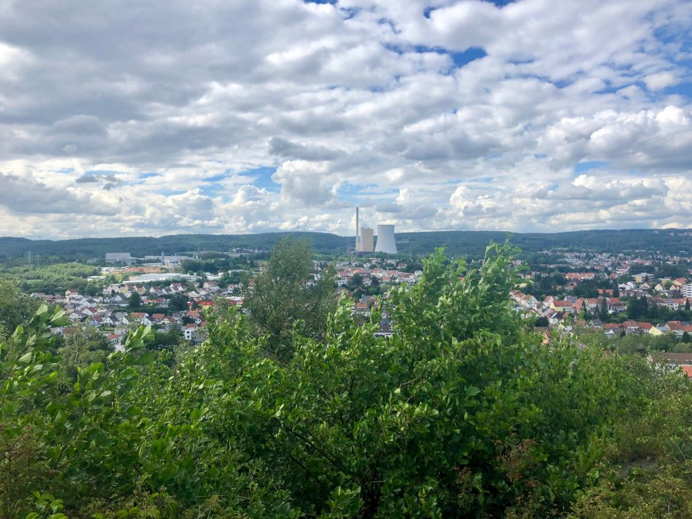 Ausblick bis zum bexbacher Kraftwerk