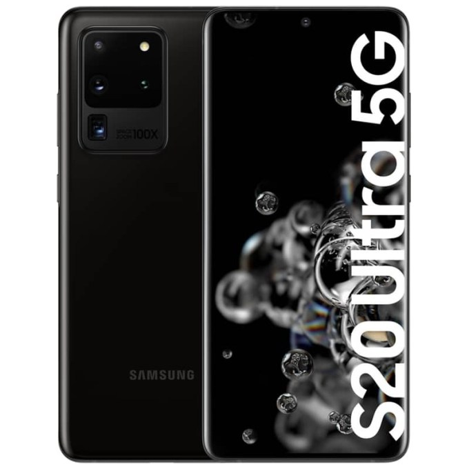 Mobile Phone: Samsung Galaxy S20 Ultra G988 5G 12GB/128GB Cosmic Black ...