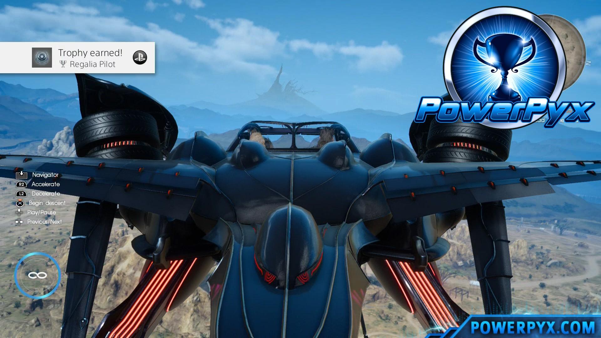 Final Fantasy XV How To Unlock Regalia Type F Flying Car