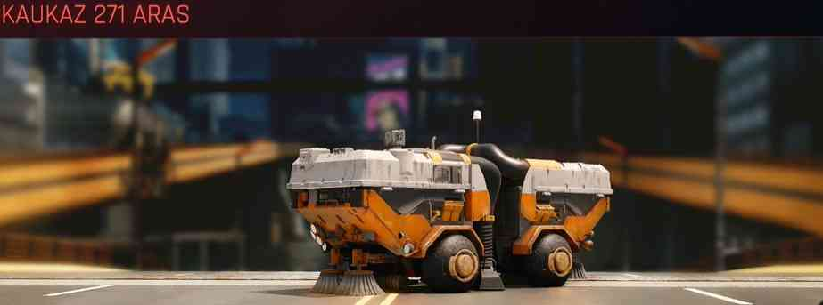 Cyberpunk 2077 Vehicle Guide cyberpunk 2077 kaukaz 271 aras