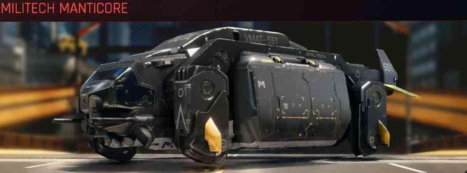 Cyberpunk 2077 Vehicle Guide cyberpunk 2077 militech manticore
