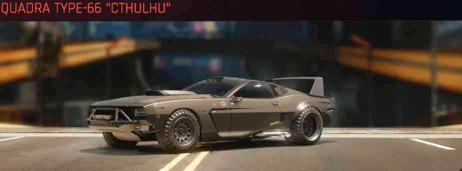 Cyberpunk 2077 Vehicle Guide cyberpunk 2077 quadra type 66 cthulhu