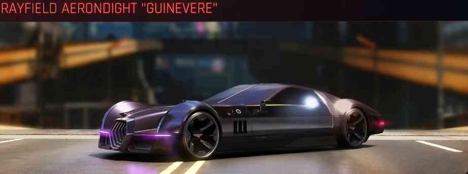 Cyberpunk 2077 Vehicle Guide cyberpunk 2077 rayfield aerondight guinevere
