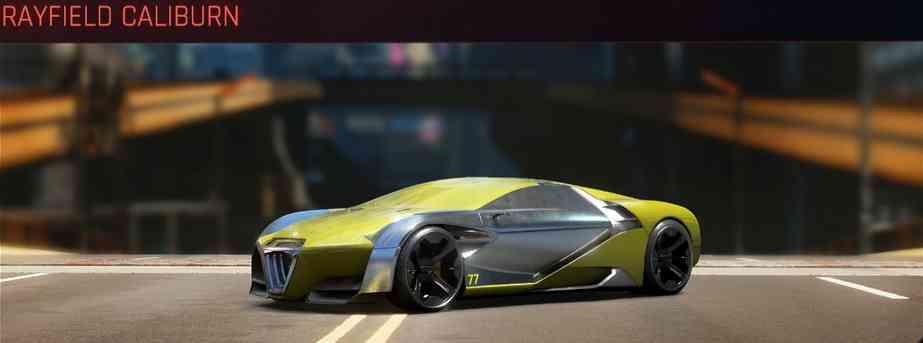 Cyberpunk 2077 Vehicle Guide cyberpunk 2077 rayfield caliburn