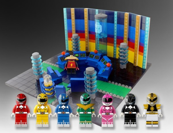 Power Rangers LEGO Rejected