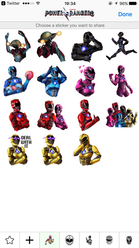Power Rangers Emoji App Released - Power Rangers NOW