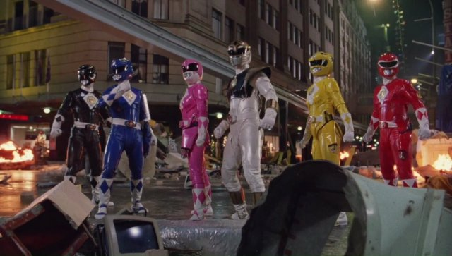Mighty Morphin Power Rangers: The Movie Released In HD