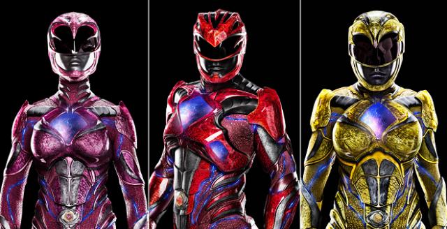 New Power Rangers Movie Suit Photos