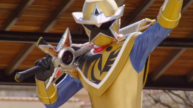 Ninja Steel Gold Ranger's Weapon Name Revealed