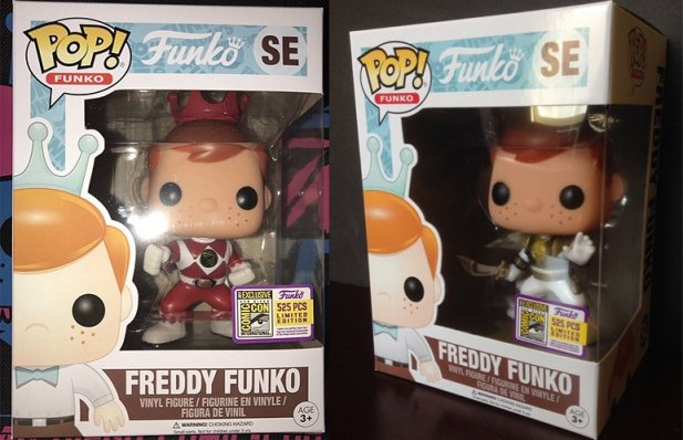 Power Rangers Freddy Funko's Revealed