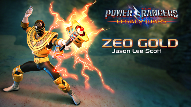 Zeo Gold Comes To Power Rangers: Legacy Wars