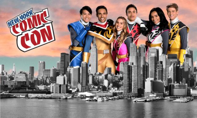 Power Rangers Ninja Steel Invades New York Comic Con