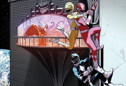 Go Go Power Rangers Issue #6 Details