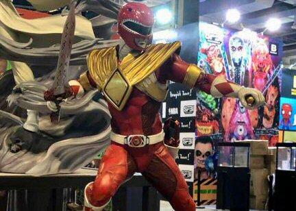 XM Studios' Red Ranger Statue Revealed