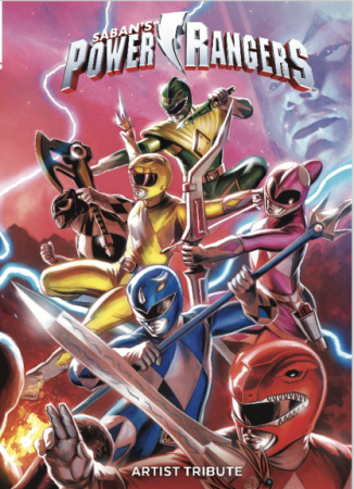 Power Rangers Artist Tribute Book - New