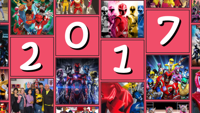 Best Power Rangers Moments of 2017!