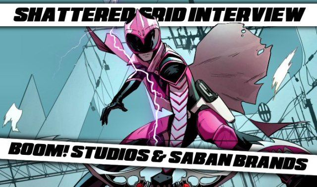 Saban's Go Go Power Rangers #9 Interview: BOOM! Studios and Saban Brands