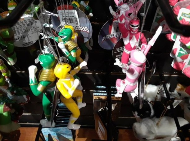 New Mighty Morphin Ornaments Released