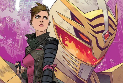 Saban's Go Go Power Rangers Issue #12 Details