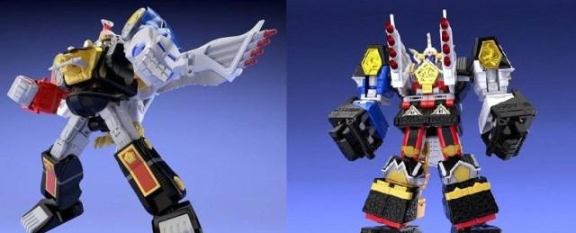 Ninja and Shogun Megazord Mini-Pla Kits Revealed