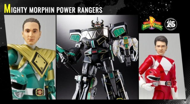 Tamashii Nations Reveals Power Rangers SDCC 2018 Exclusives
