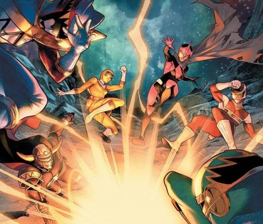 Mighty Morphin Power Rangers Issue #32 Details