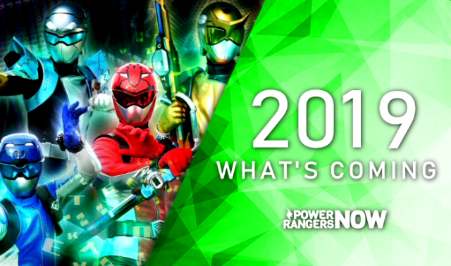 Most Exciting Power Rangers Things In 2019!