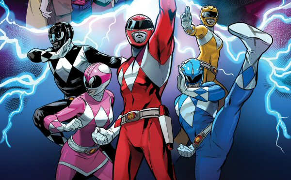 Saban's Go Go Power Rangers Issue #20 Details