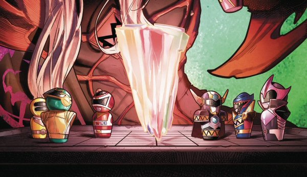 Mighty Morphin Power Rangers Issue #38 Details