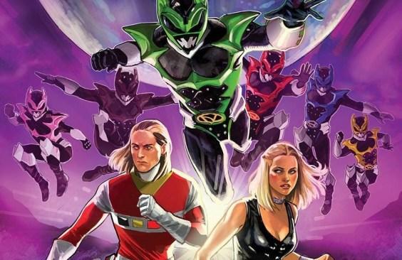 Psycho Rangers Graphic Novel Announced