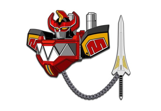Power Rangers Oversized Pins Released By Lineage Studios