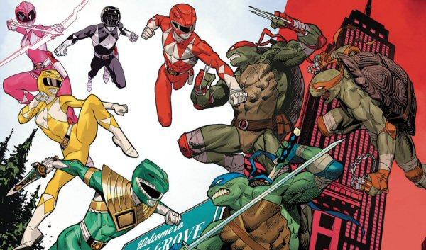 Mighty Morphin Power Rangers/Teenage Mutant Ninja Turtles Issue #2 Details
