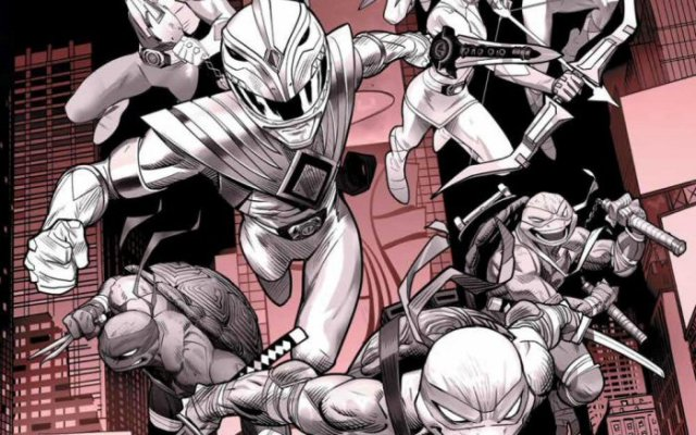 Mighty Morphin Power Rangers/Teenage Mutant Ninja Turtles Releasing In Black & White