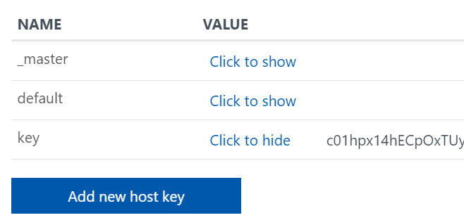 Add Azure Function key using PowerShell - Powershellbros com