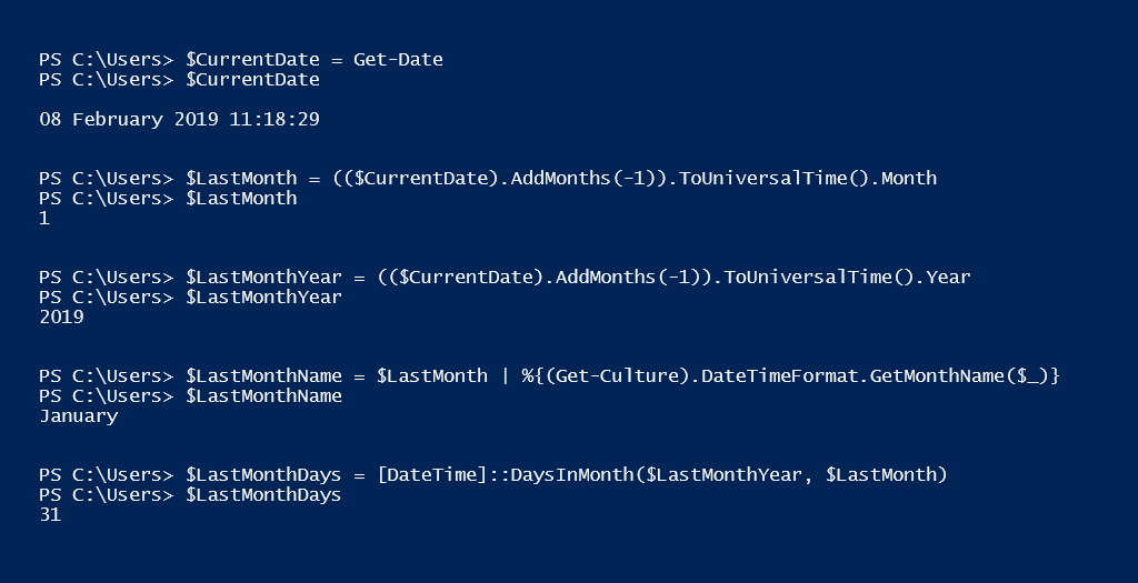PowerShell Tip of the Week: Get name of a month and number